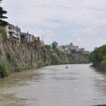 Тбилиси столица Грузии река Кура